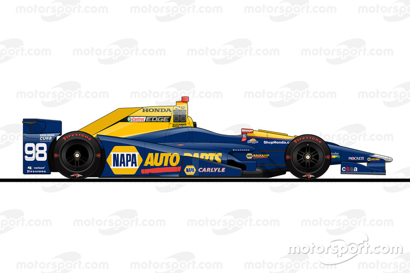 Startpositie 11: Alexander Rossi (Herta/Andretti-Honda)