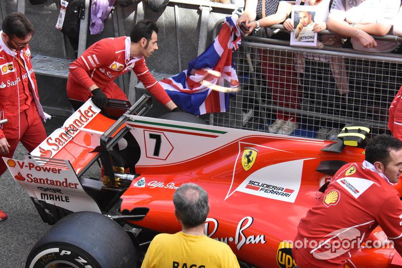 Ferrari SF70H, detail
