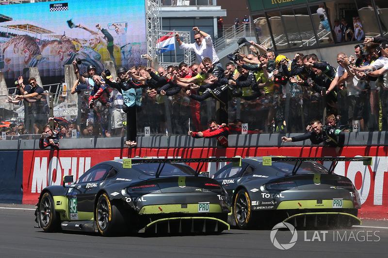 Turner/Adam/Serra dari Aston Martin #97 raih kemenangan di GTE Pro