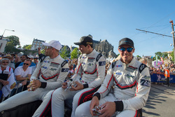 Richard Lietz, Frédéric Makowiecki, Patrick Pilet, Porsche Team