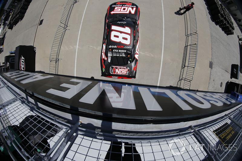 5. Kyle Busch, Joe Gibbs Racing Toyota