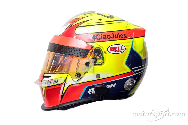 Алекс Палоу, Teo Martin Motorsport, шолом