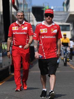 Кімі Райкконен, Ferrari, керівник команди Ferrari Мауріціо Аррівабене