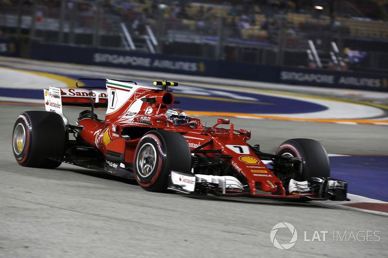 4. Kimi Raikkonen, Ferrari SF70H
