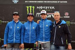Alessandro Lupino, Antonio Cairoli e Michele Cervellin, Team Italia