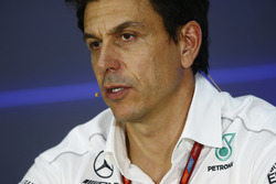 Toto Wolff, Executive Director Mercedes AMG F1, in the Team Principals' Press Conference