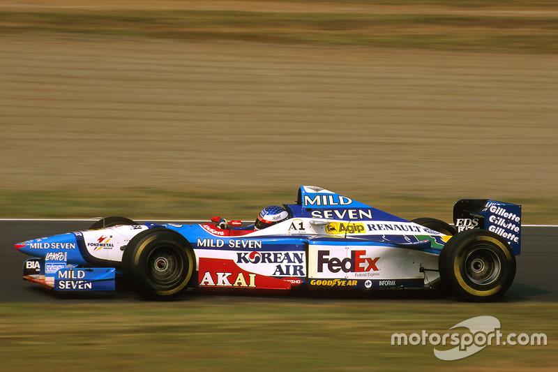 Жан Алези, Benetton