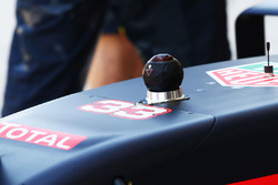 A 360 camera on the Red Bull Racing RB12