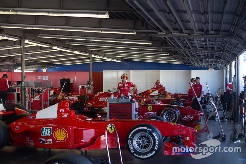 Ferrari F1 Clienti garaje