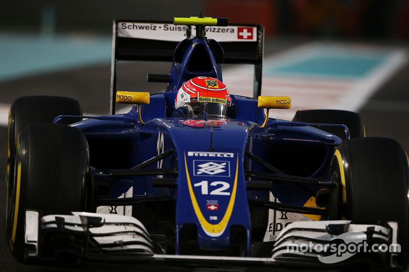 Em 2015 e 2016, Nasr passou pela Fómula 1, na Sauber.