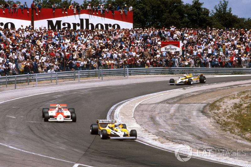 Гран При Франции в рамках чемпионата мира принимало семь разных трасс («Реймс-Гу»,«Руан»,«Клермон-Ферран»,«Бугатти» в Ле-Мане,«Дижон»,«Поль Рикар» и«Маньи-Кур»)