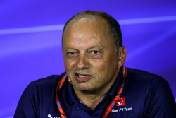 Frederic Vasseur, Sauber Team Principal in the Press Conference