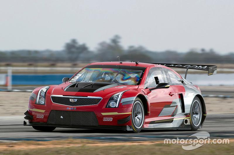 Cadillac Racing testing