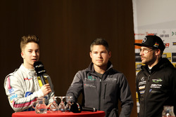 Mike-David Ortmann, Mücke Motorsport; Christopher Mies, Montaplast by Land-Motorsport; Maximilian Götz, Mercedes-AMG Team HTP Motorsport