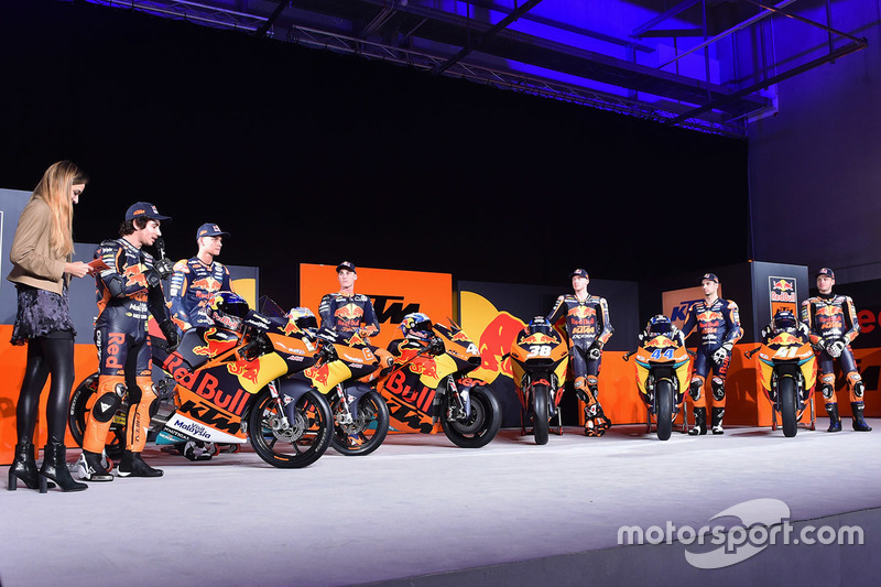 Red Bull KTM Factory Racing drivers