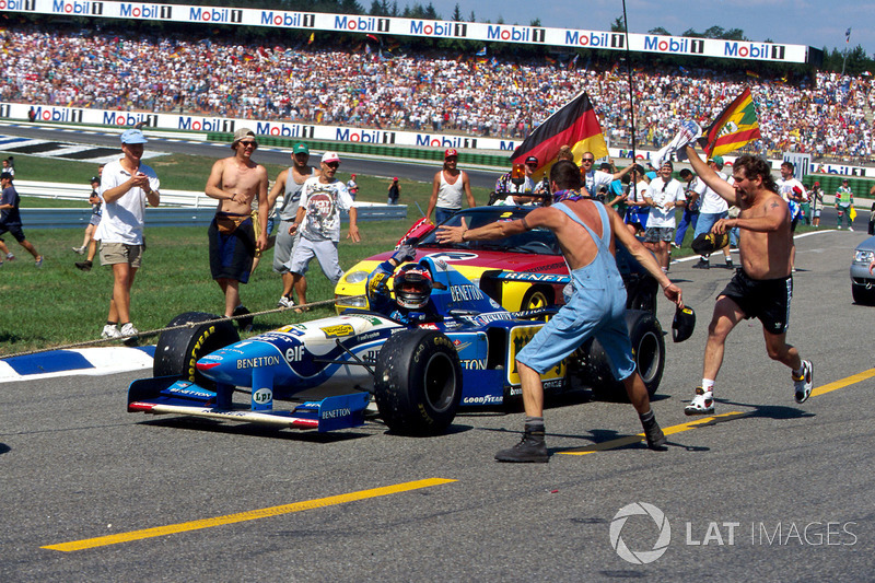 15勝目:1995年ドイツGP