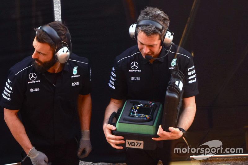 Lenkrad für Valtteri Bottas, Mercedes AMG F1 W08