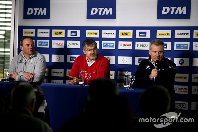 Ullrich Fritz, Team principal Mercedes-AMG HWA, Dieter Gass, Head of DTM Audi Sport, Jens Marquardt,