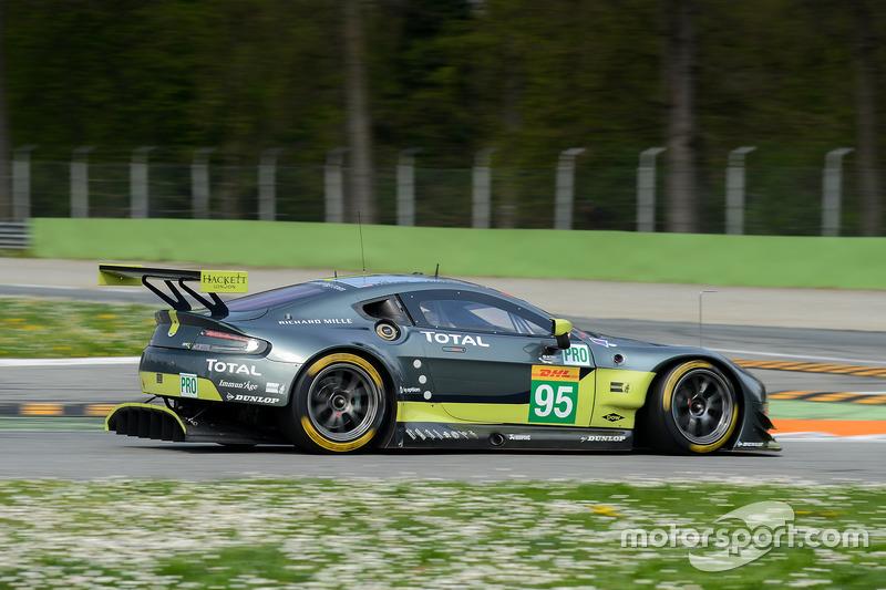 #95 Aston Martin Racing Aston Martin Vantage: Nicki Thiim, Marco Sorensen, Richie Stanaway