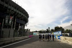 Nicolas Prost, Renault e.Dams lors du track walk
