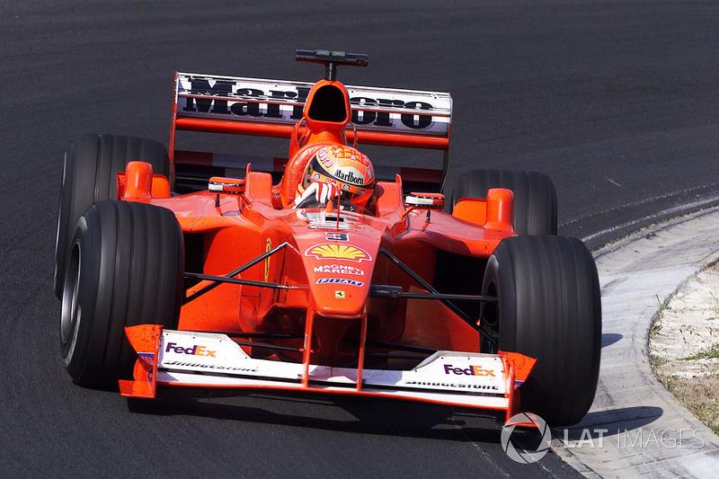 28. Hungría 2000, Ferrari F1-2000