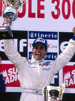 Podium: race winner Juan Pablo Montoya, RSM Marko