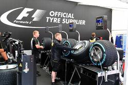Pirelli, Vorbereitung der Reifen