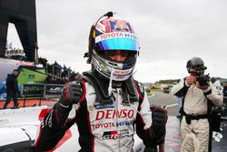 Sébastien Buemi, Toyota Gazoo Racing en parc ferme