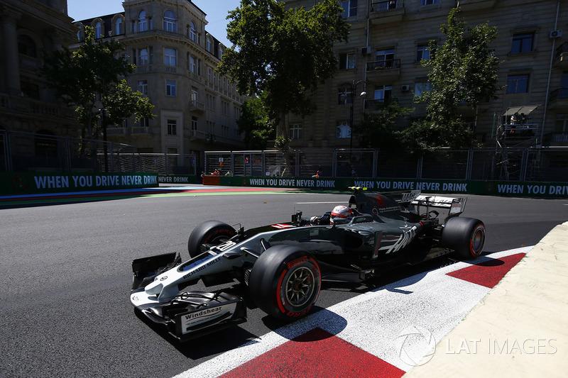 Кевін Магнуссен, Haas Ferrari