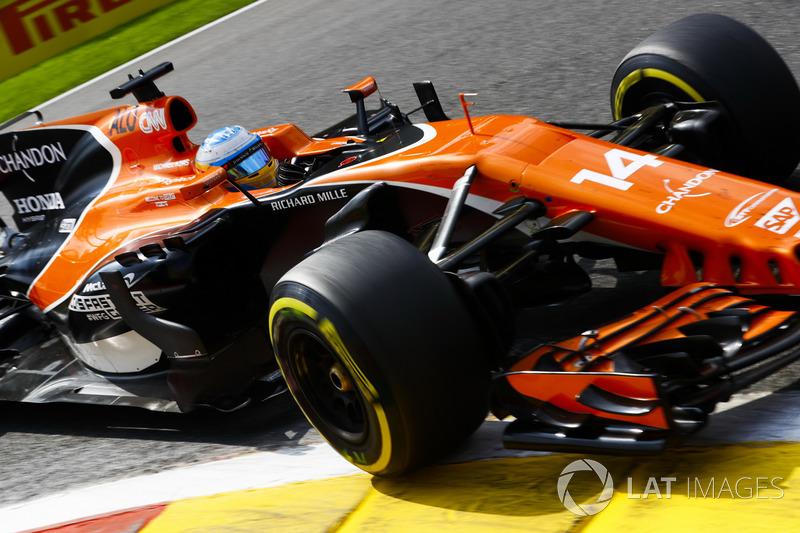 Гран При Бельгии: Honda падает еще ниже в глазах Алонсо. Избранное