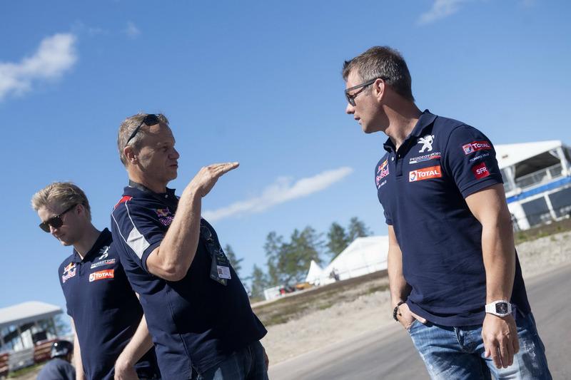 Sébastien Loeb, Team Peugeot Total, Kenneth Hansen, Team Peugeot Total