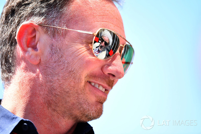 Christian Horner, directeur de Red Bull Racing