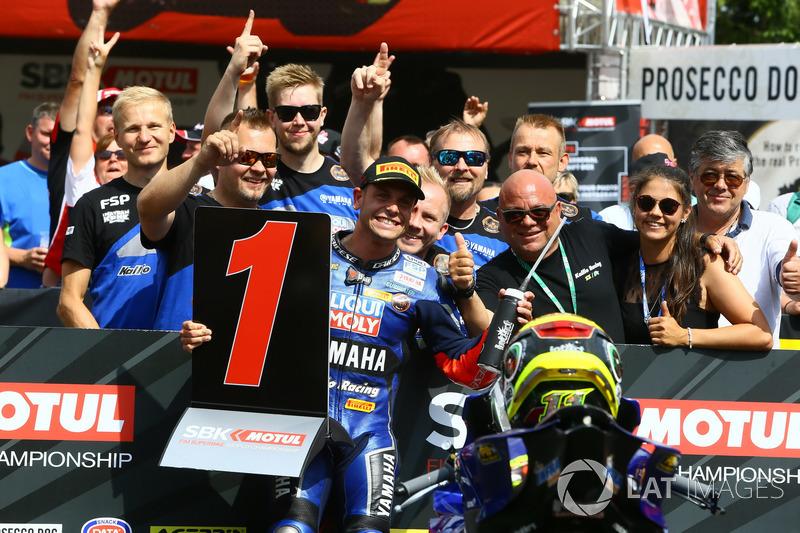 Sandro Cortese, Kallio Racing takes pole