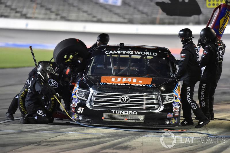 Spencer Davis, Kyle Busch Motorsports, Toyota Tundra JBL/SiriusXM