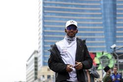 Lewis Hamilton, Mercedes-AMG F1 pilotlar geçit töreninde
