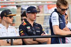 Stoffel Vandoorne, McLaren and Max Verstappen, Red Bull Racing