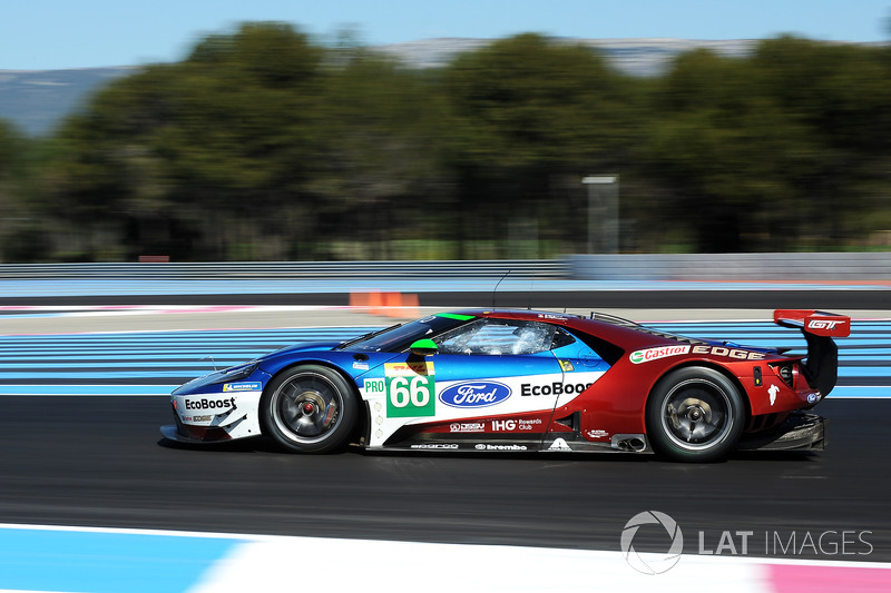#66 Ford Chip Ganassi Racing Ford GT: Stefan Mücke, Olivier Pla, Billy Johnson