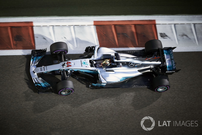 Lewis Hamilton, Mercedes: 5