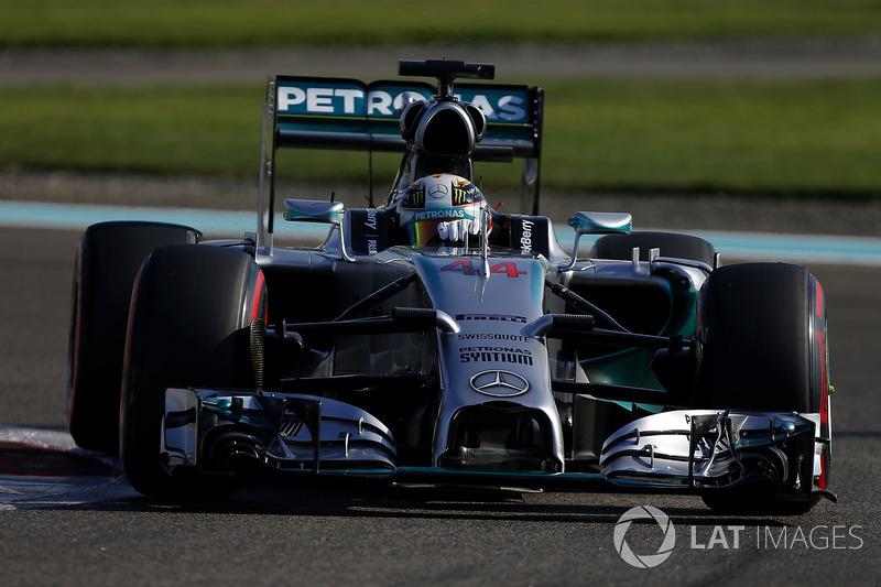 Lewis Hamilton, Mercedes AMG F1 W05 (2014)