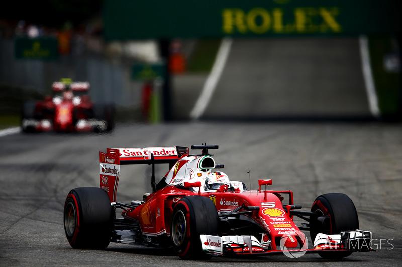 2016: Ferrari SF16-H (десять подиумов, 3-е место в КК)