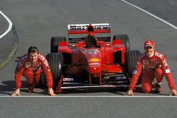Eddie Irvine and Michael Schumacher, Ferrari