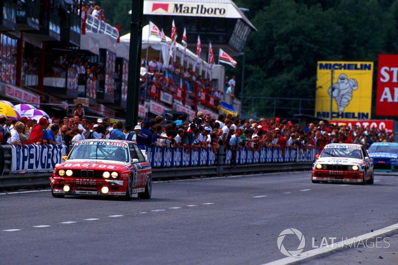 Steve Soper, BMW M3 leads