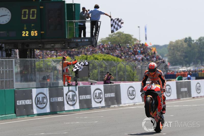 MotoGP Prancis: Menang