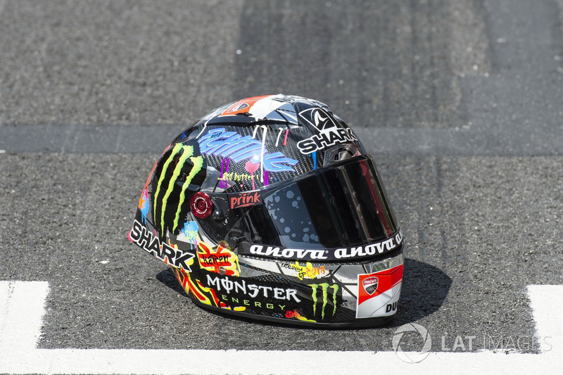 Helmet of Jorge Lorenzo, Ducati Team