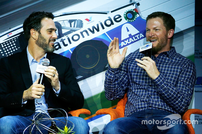 Jimmie Johnson, Dale Earnhardt Jr., Hendrick Motorsports