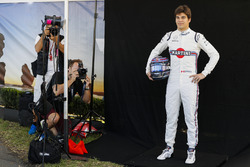 Lance Stroll, Williams Racing, has his photograph taken