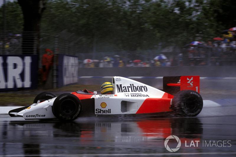 1991 Avustralya: McLaren MP4/6