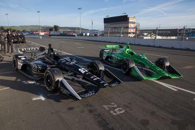 IndyCar-Test in Sonoma