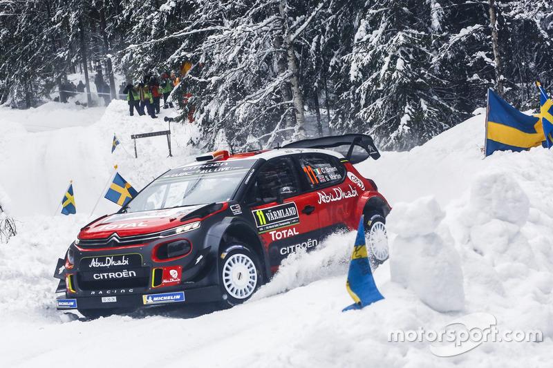 Крейг Брин, Скотт Мартин, Citroën C3 WRC