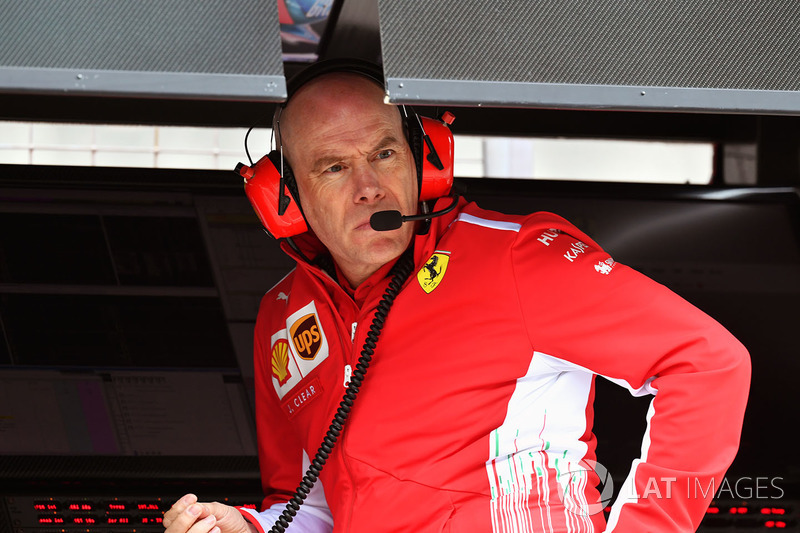 Jock Clear, chief engineer Ferrari, turun tangan menghubungi Raikkonen